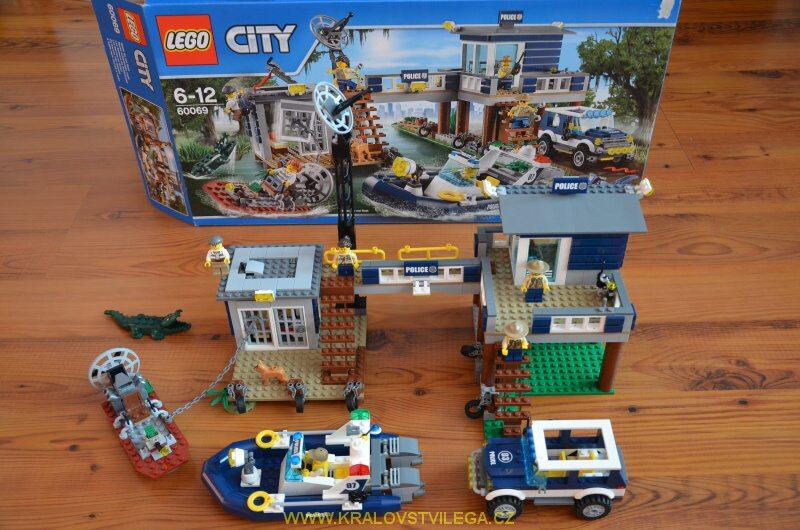 Lego City 60069 stanice speciální policie 01