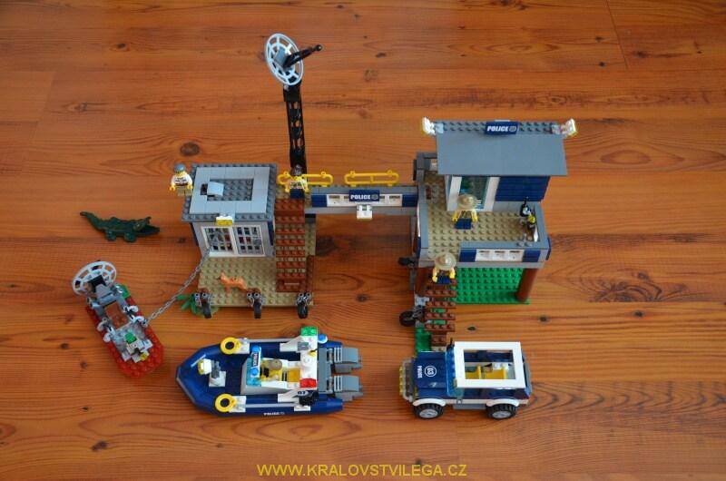 Lego City 60069 stanice speciální policie 02