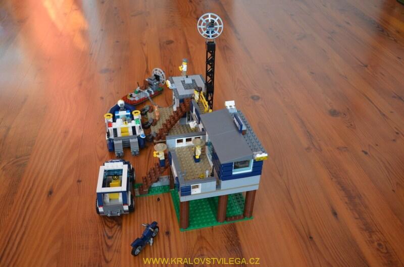 Lego City 60069 stanice speciální policie 06