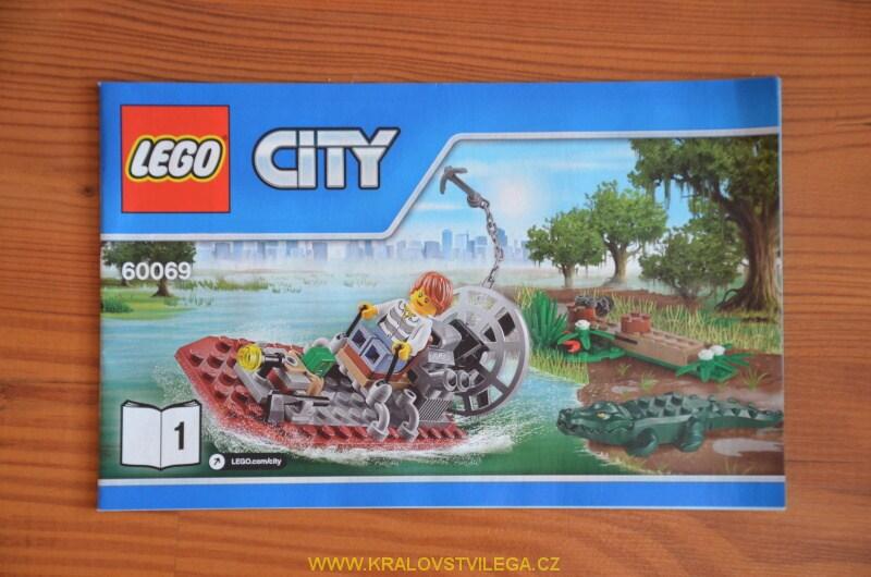 Lego City 60069 stanice speciální policie 11