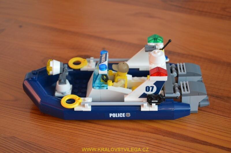 Lego City 60069 stanice speciální policie 16