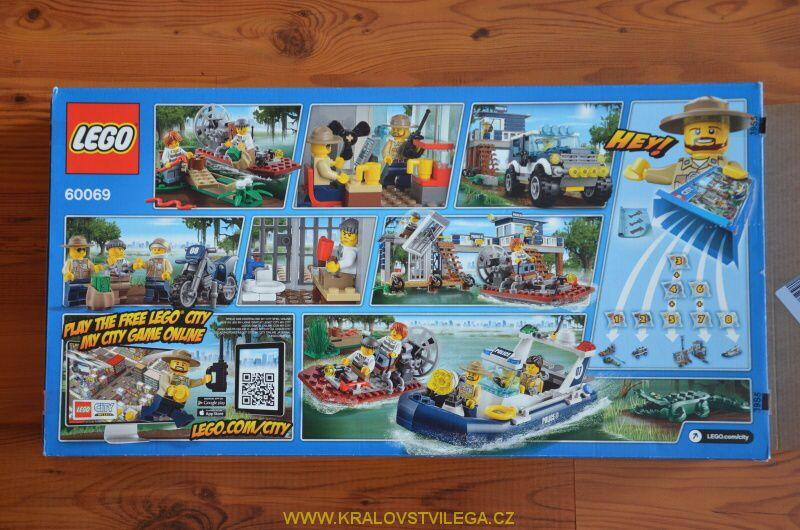 Lego City 60069 stanice speciální policie 24
