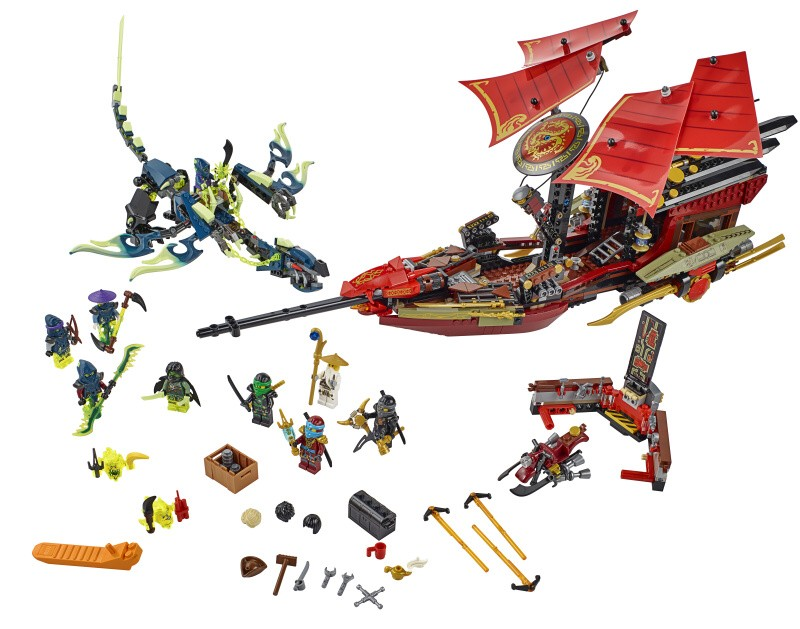 lego ninjago final flight 70738