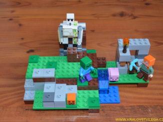 Lego Minecraft 21123 Železný golem 2
