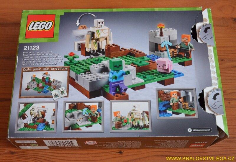 Lego Minecraft 21123 Železný golem 3